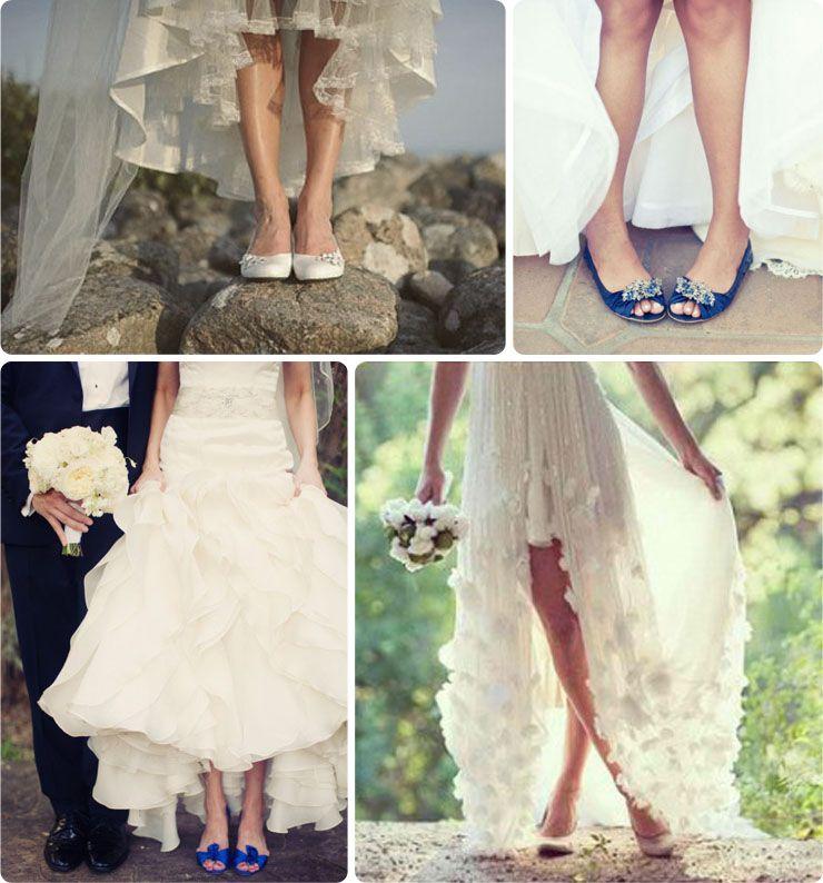 novias con zapato plano #bodas #novias #zapatos | zapatos novia