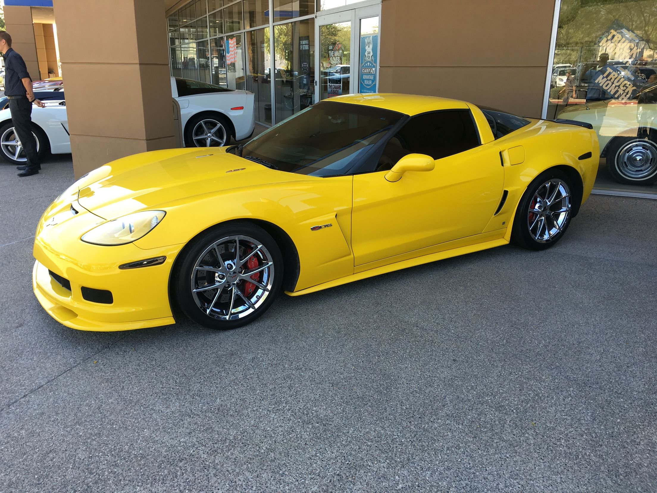 Yellow Corvette Z06 2009 My Dream Car That I Worked Hard For But