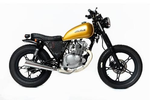 vendo suzuki gn 125 cafe racer street tracker gn 125. Black Bedroom Furniture Sets. Home Design Ideas