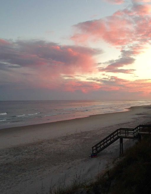 Sunset South Topsail Beach