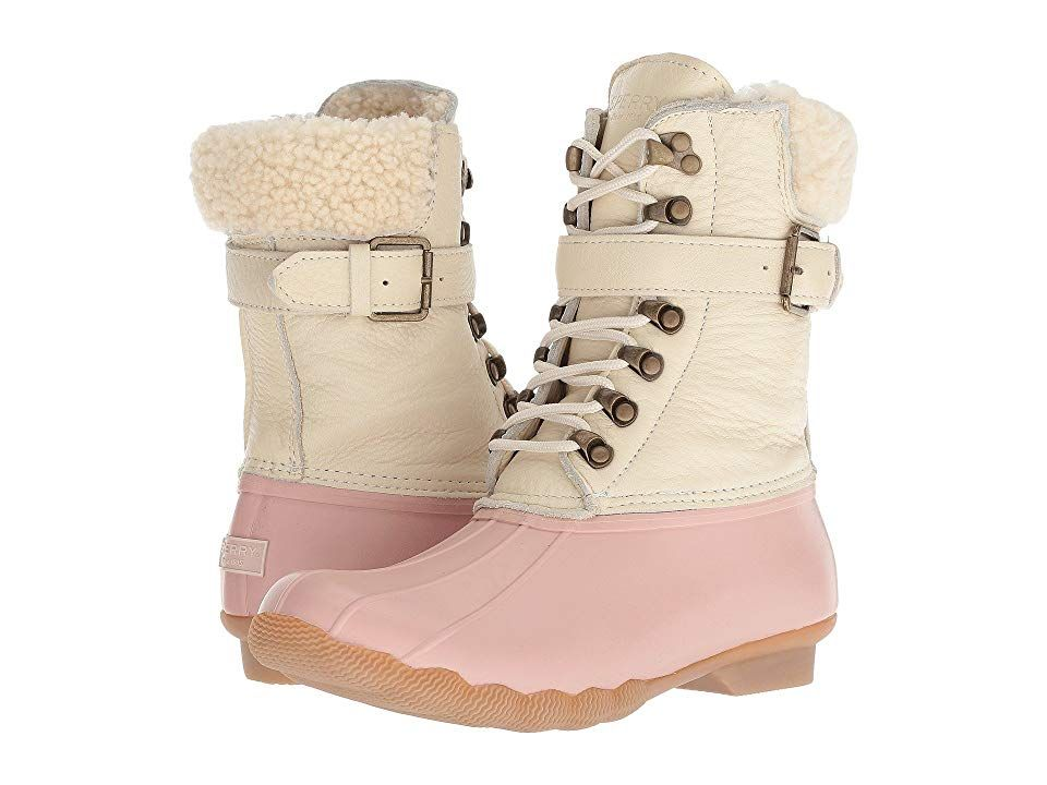 huge inventory order online look out for Sperry Shearwater (Rose/Ivory) Women's Rain Boots. The Sperry ...