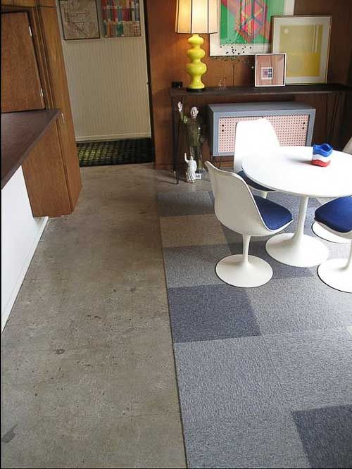Polished Concrete Floors For Troys Eichler House New