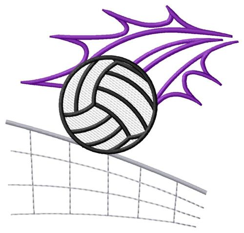 Volleyball With Net Embroidery Designs Machine Embroidery Designs At Embroiderydesigns Com Embroidery Designs Machine Embroidery Designs Machine Embroidery
