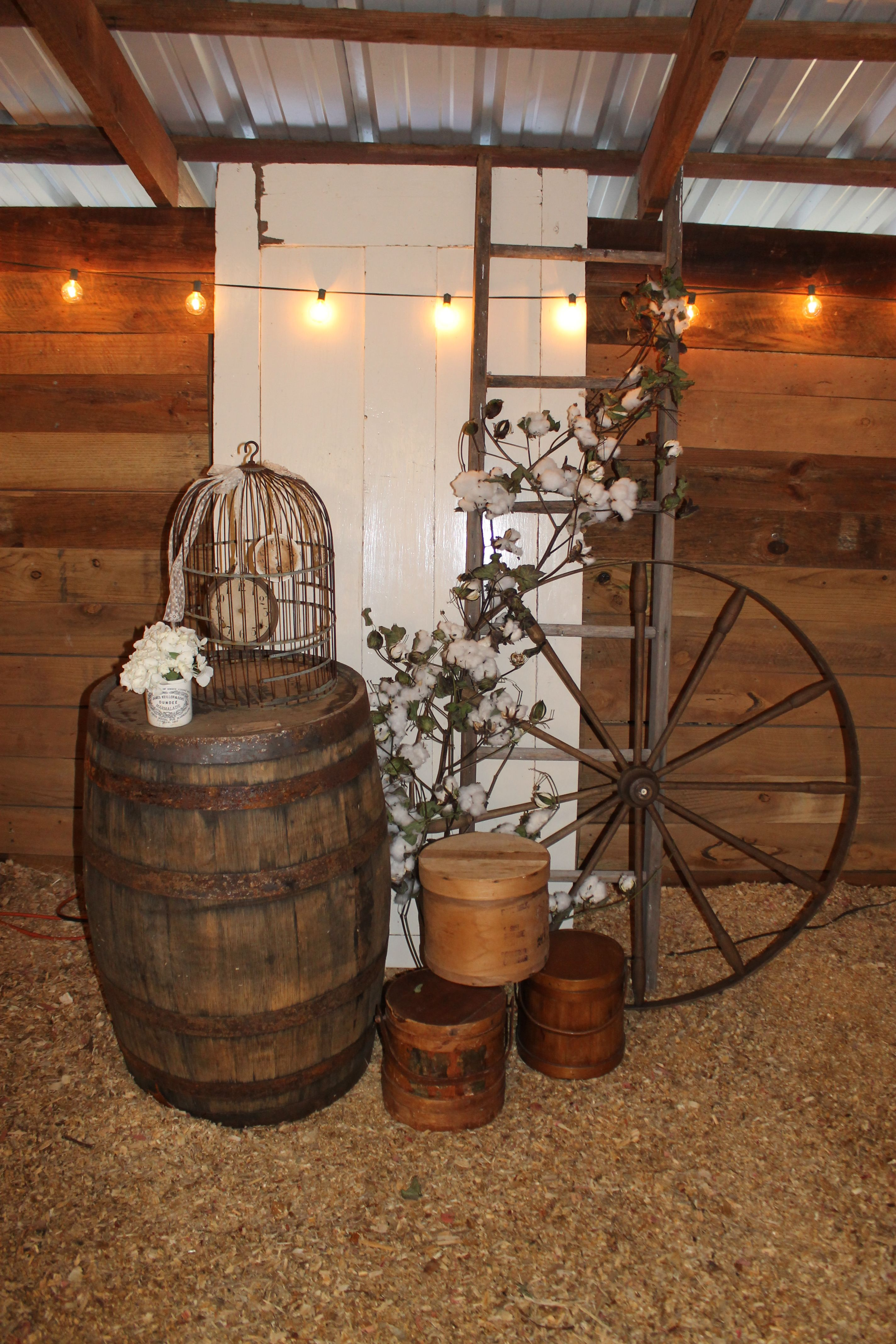 rustic wedding decor rentals southern vintage wedding rentals at vinewood weddings 7211