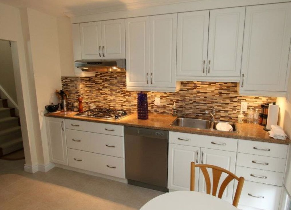Ideas For Small Kitchen Tile Backsplash Design Kitchen Cabinets