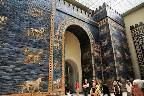 Originally The Gate Being Part Of The Walls Of Babylon Was Considered One Of The Seven Wonders Of The World U Pergamon Museum Berlin Pergamon Museum Pergamon