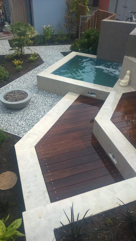 Moderner Garten Bilder moderner Garten Gardens, Retaining walls - moderne gartengestaltung mit pool