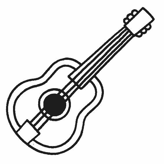 Fichas de instrumentos musicales: Guitarra, piano, trompeta, flauta ...