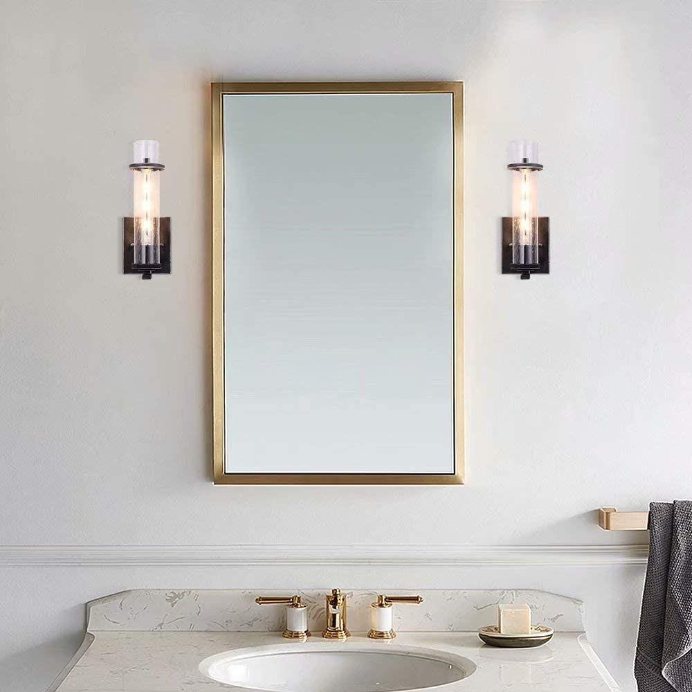 Ikakon 14w Led Vanity Lights 24 4in Bathroom Lighting Fixture Wall Lamp Make Up Mirror Front Light Natur Bathroom Light Fixtures Led Vanity Lights Wall Lights