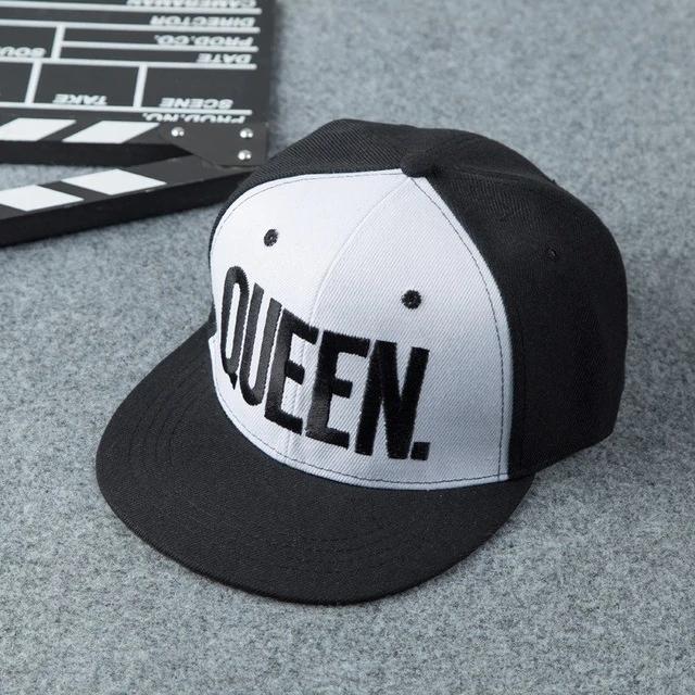 King Queen Couple Set Hip Hop Cap 4colordress Womens Visor Hip Hop Hat Hip Hop Women