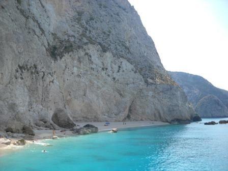 Porto Katziki beach (Lefkada, Greece)