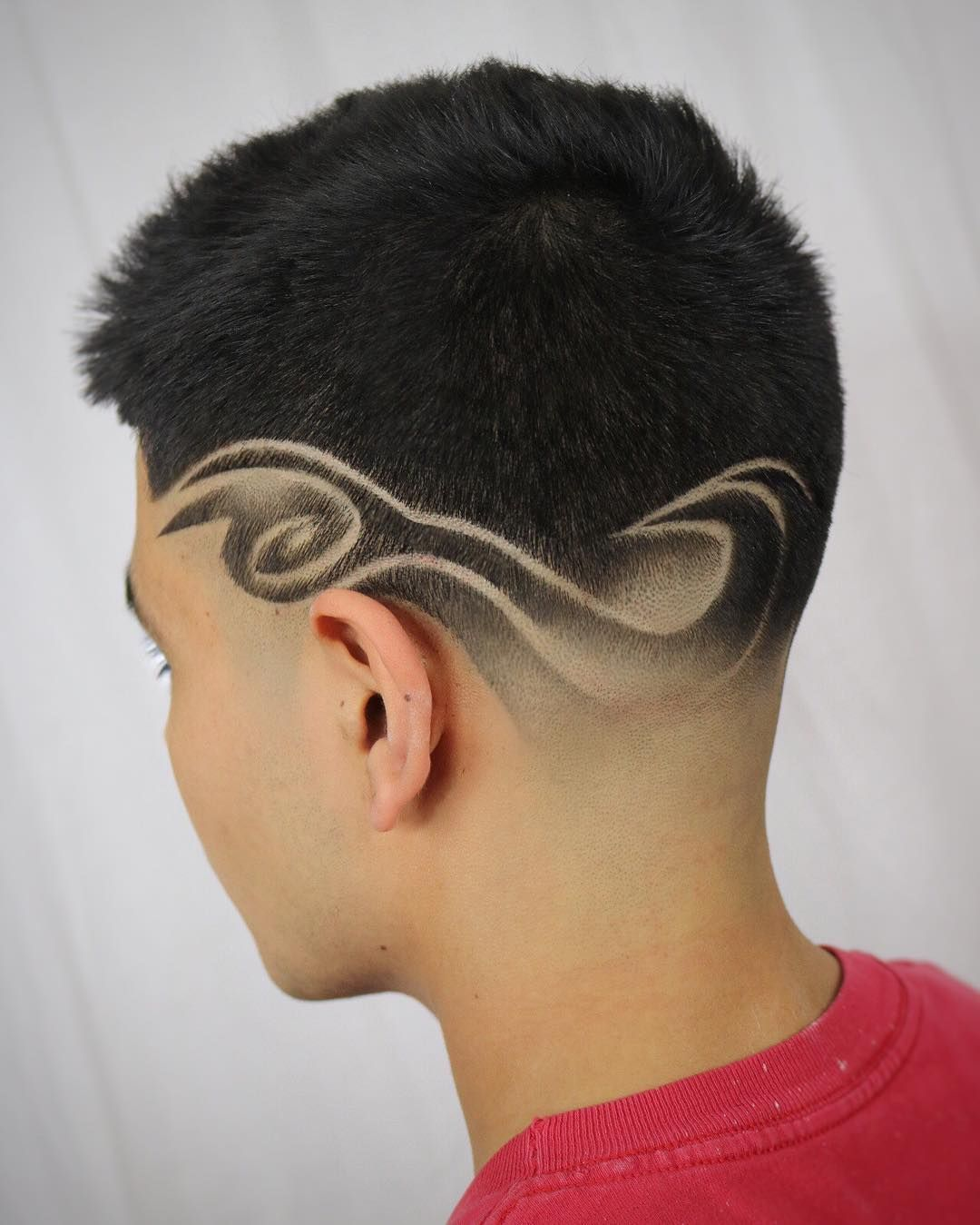 taper fade haircuts with design | taper fade | pinterest | taper