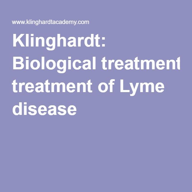 Doctor to check out: Klinghardt: Biological treatment of