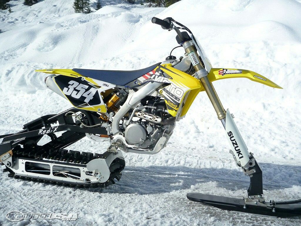Pin By Kevin Phillips On Timber Sleds Snow Vehicles Snowbike Bike