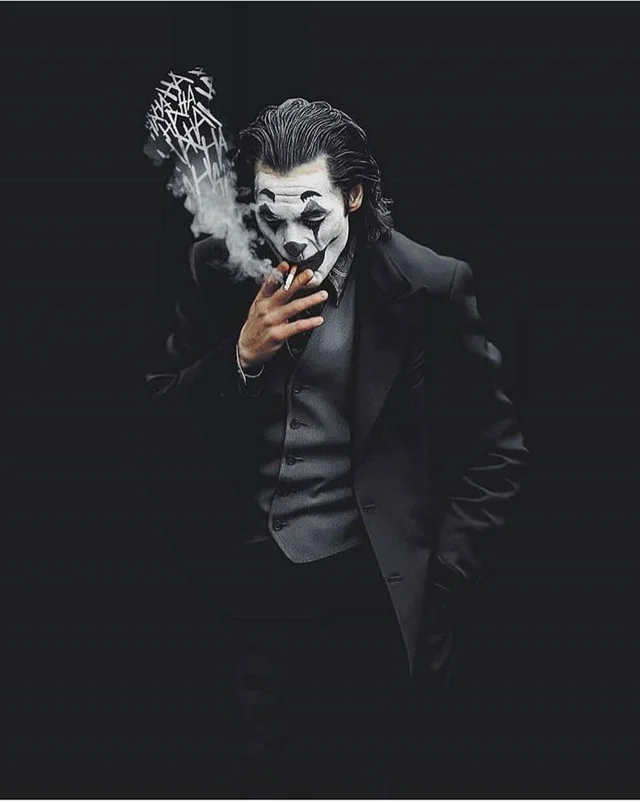 Just One Bad Day Joker painting, Joker wallpapers, Black