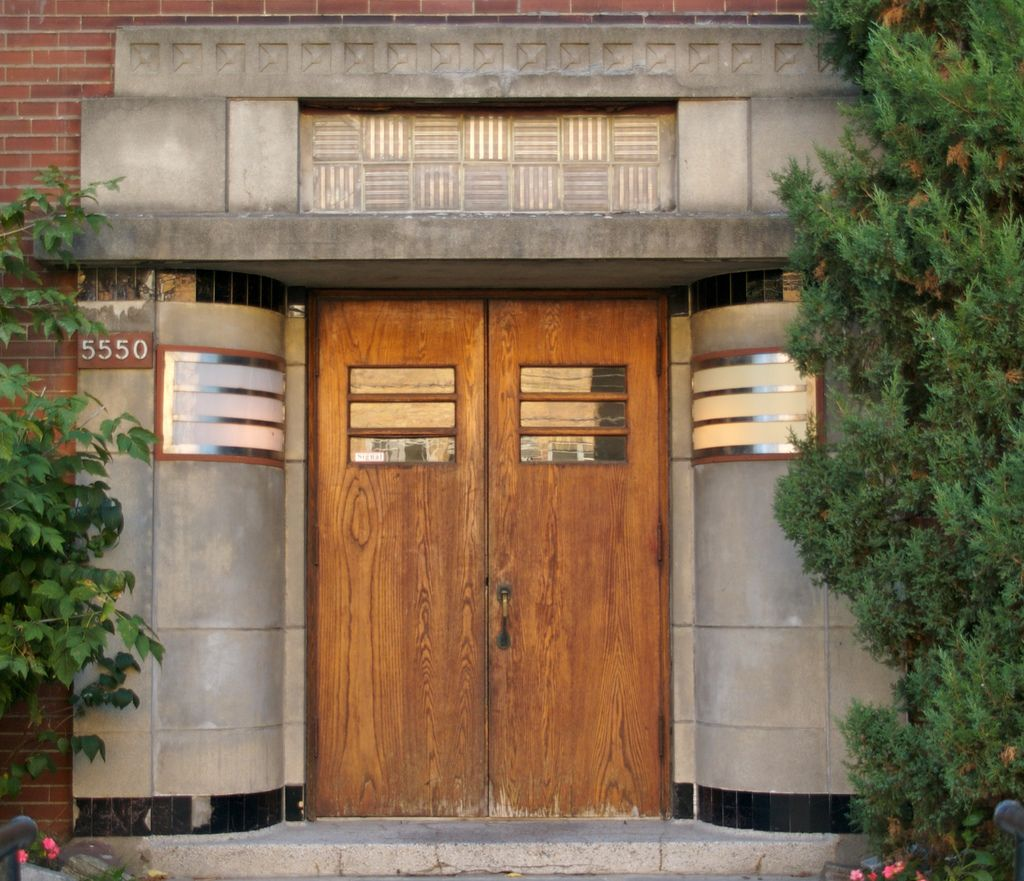 Art Deco Streamline Apartment Entrance - Art deco - Wikipedia ...