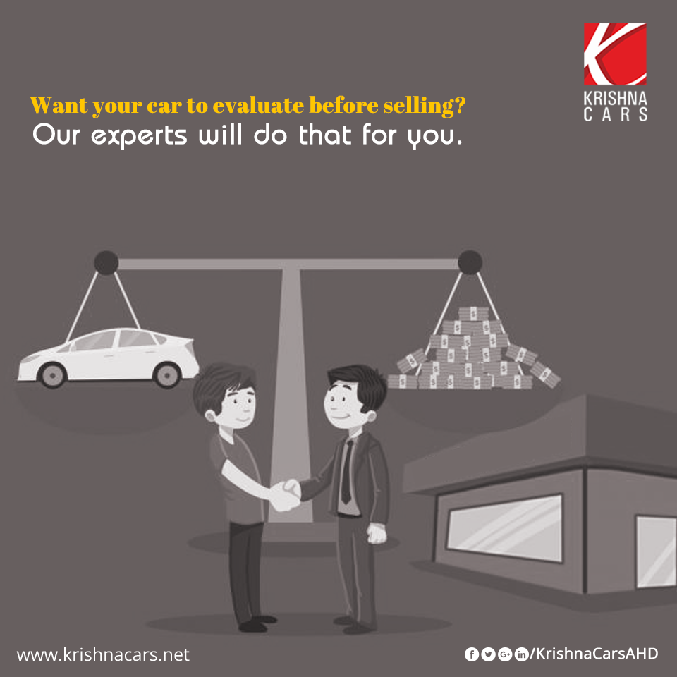 Get your old car valued at Krishna Cars by its reliable experts in ...