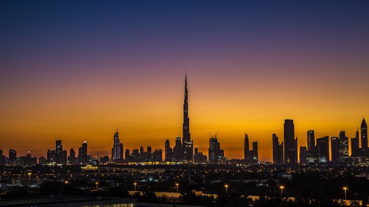 Dubai Skyline Wallpaper Hd Photo Background Wallpapers ...