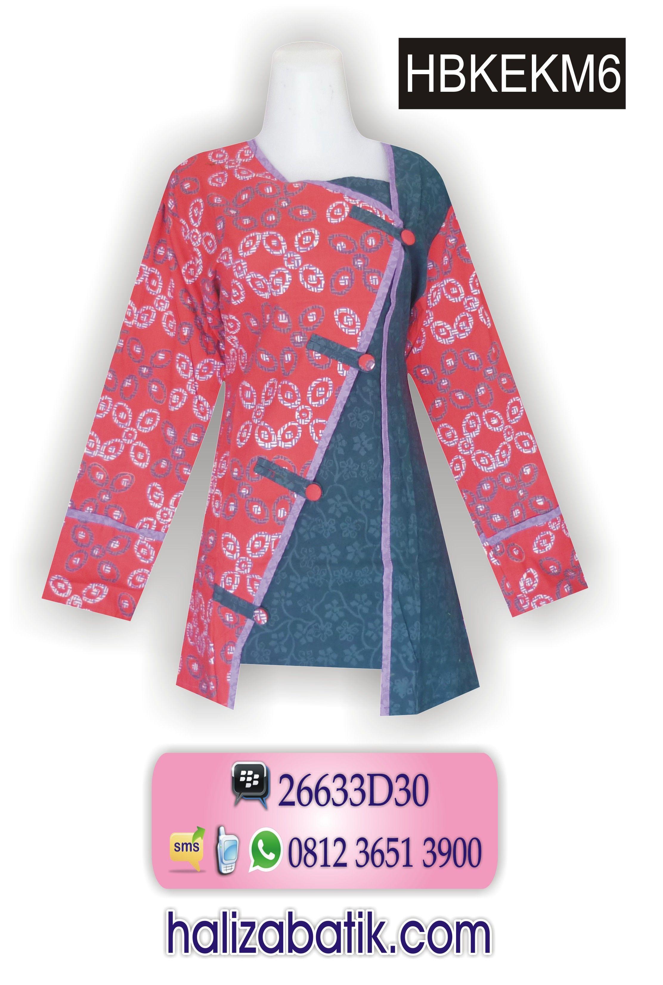 Baju Batik Desain Baju Batik Gambar Model Batik CS TOKO HALIZA BATIK SMS WA Follow IG halizabatik fashion Pinterest