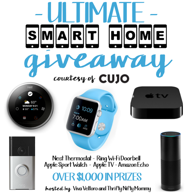 Smart Home Giveaway Nest Thermostat, Apple Watch, Apple
