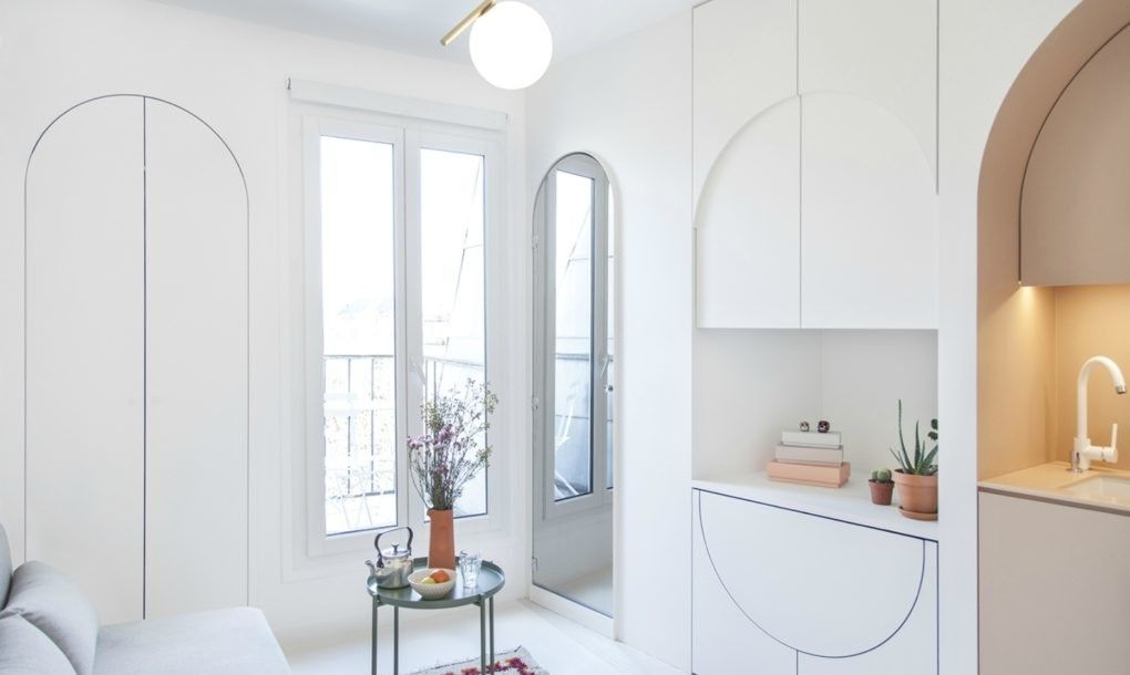 This Ultra Chic Paris Micro Studio Is Part Home Part Transformer