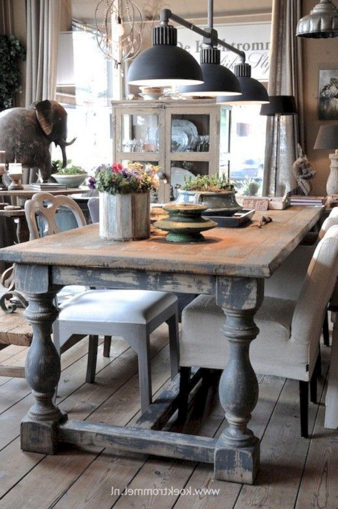 75 Simple And Minimalist Dining Table Decor Ideas 25041