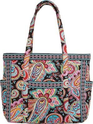 Vera Bradley Get Carried Away Tote  Parisian Paisley – via eBags.com!