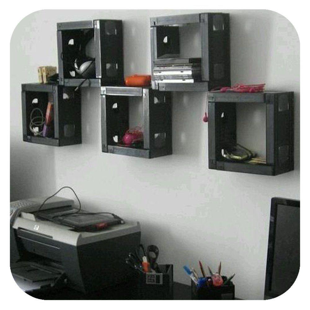 repurpose vhs tapes case hometalk pictures pinterest vhs tapes. Black Bedroom Furniture Sets. Home Design Ideas