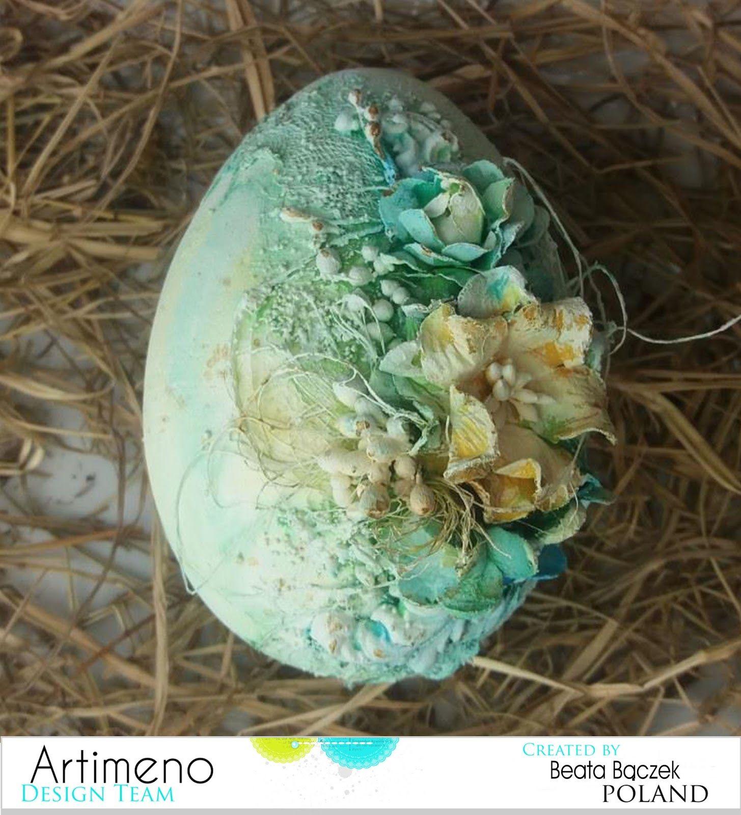 Witajcie Tak Jest Nadszedl Dla Mnie Dzien Proby Mam Treme Ale Do Boju Oto Moja Pierwsza Inspiracja Dla Was Jako Egg Shell Art Easter Crafts Easter Eggs