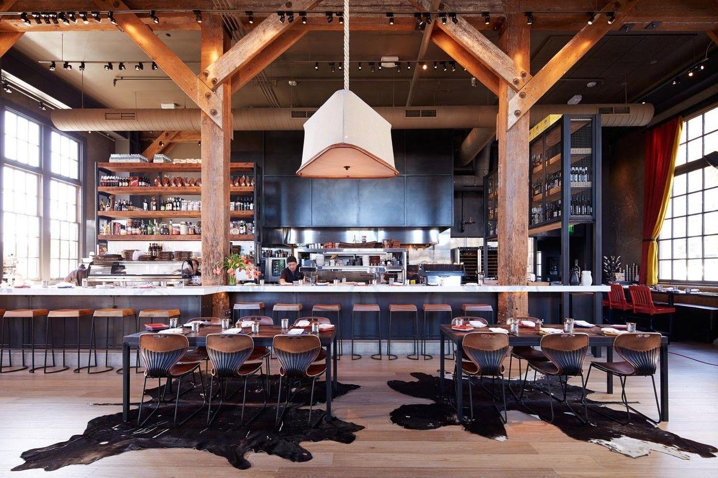 Rustic Restaurants Photos- under bar