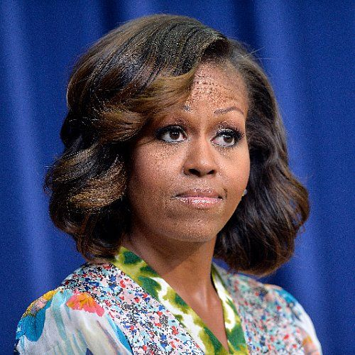 Michelle Obama Gives a Speech but Distracts Us With Her New Highlights