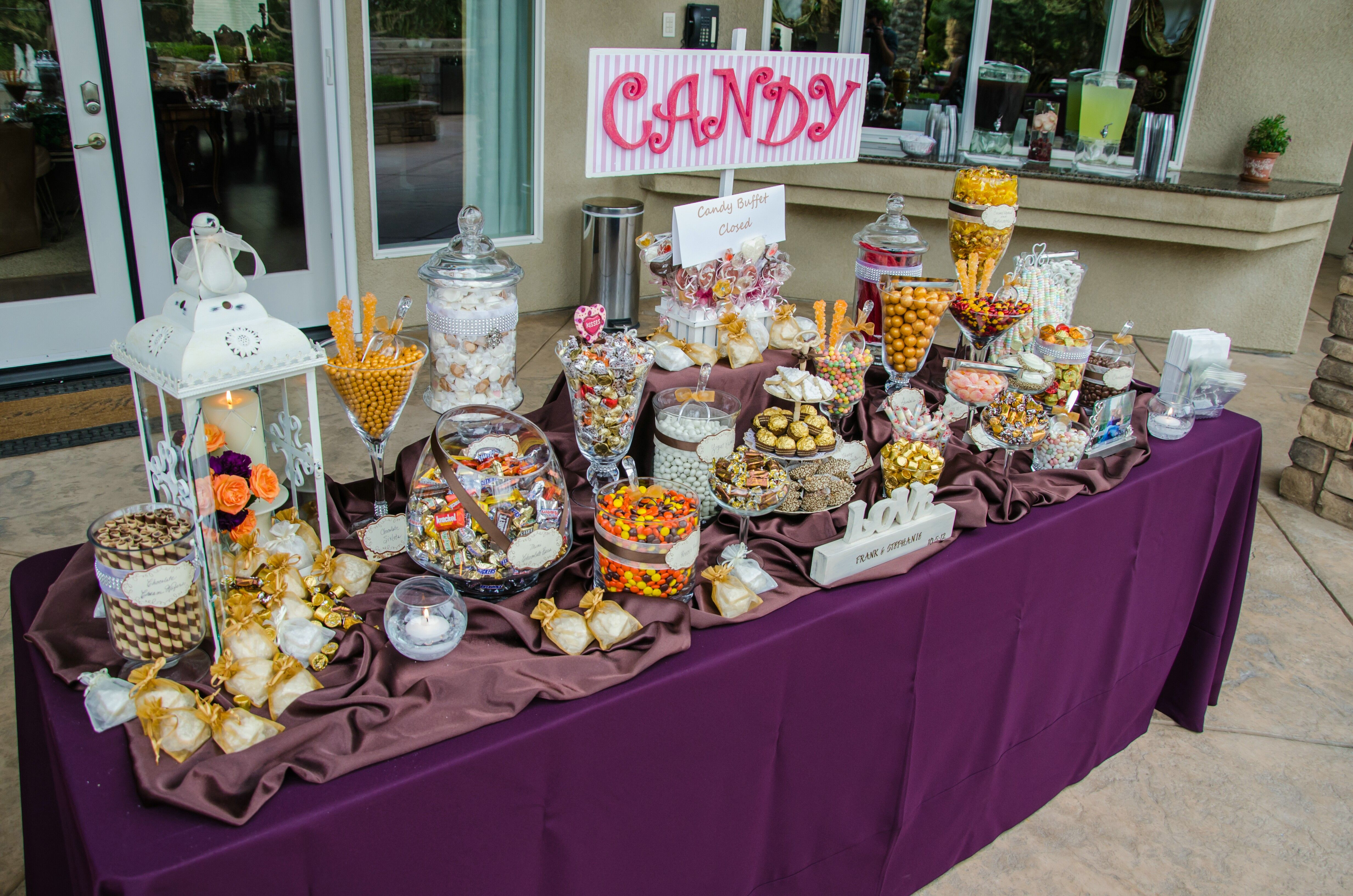 Fall Wedding Candy Buffet Ideas: Pin By Sharie's Candy Buffets.com On ShariesCandyBuffets