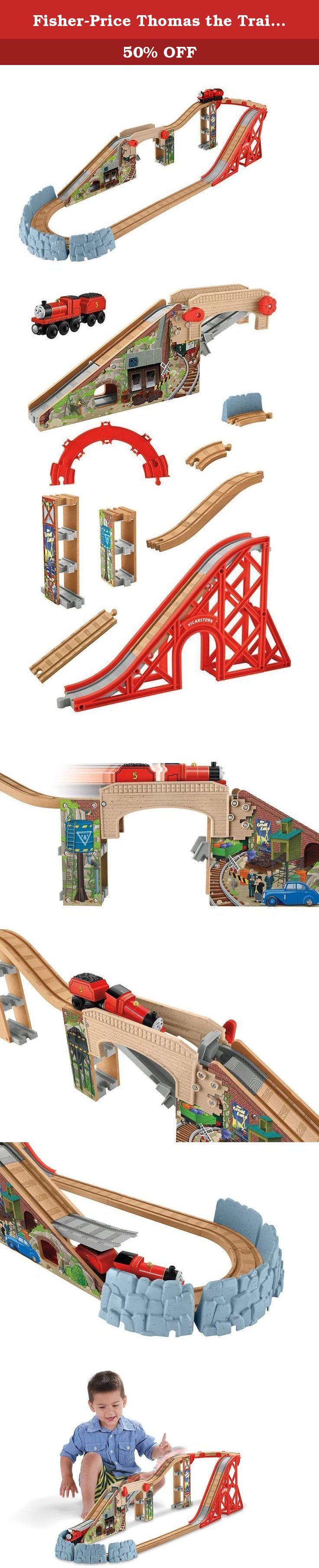 d87a0cfea722 Fisher-Price Thomas the Train Wooden Railway Speedy Surprise Drop Set. It's  the highest