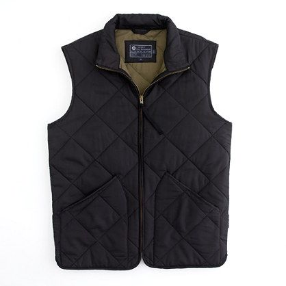 J Crew quilted layering vest #isitfallyet?