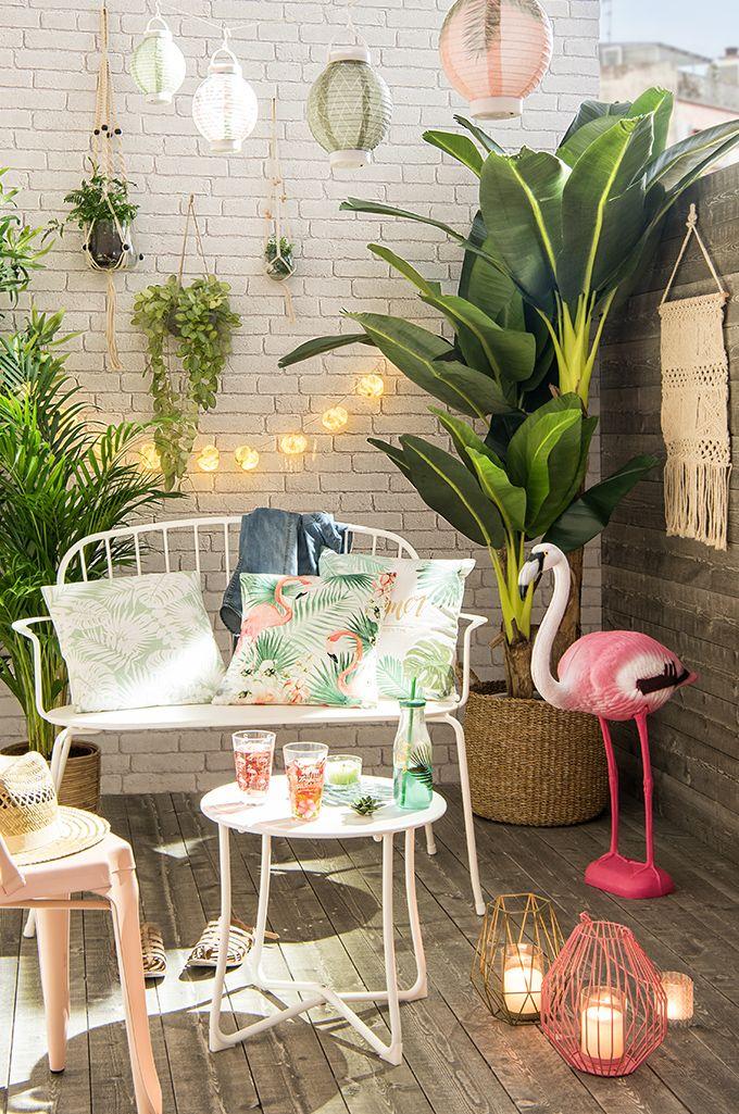Tendencia decorativa Urban Garden - Amigos en Miami   Maisons du ...