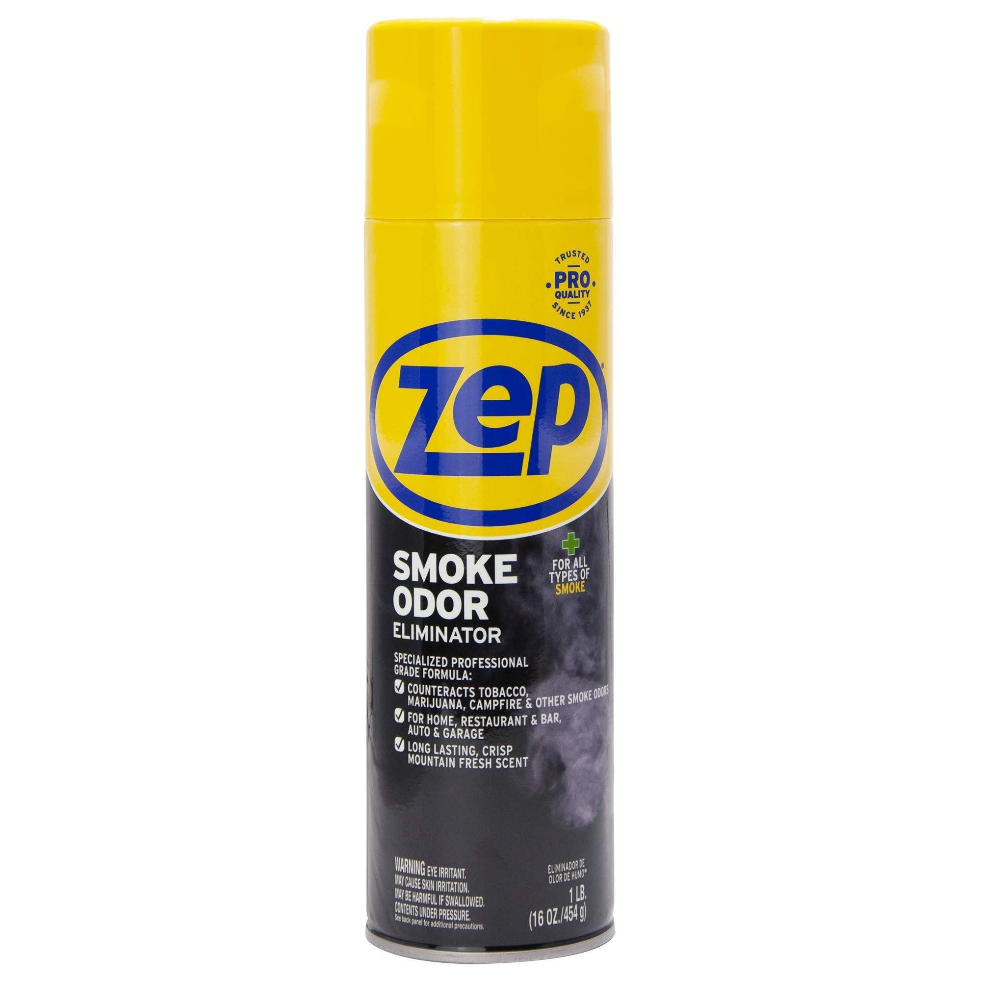 Zep Smoke Odor Eliminator 16 Ounces Zusoe16 Smoke Odor Eliminator Odor Eliminator Freshener Spray