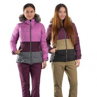 Neuestes Design komplettes Angebot an Artikeln Rabatt zum Verkauf Damen Skianzug mit abnehmbarer Kapuze, vielen Taschen (innen ...