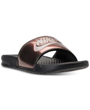 b377170b169f Nike Women s Benassi Jdi Print Slide Sandals from Finish Line - Black 11