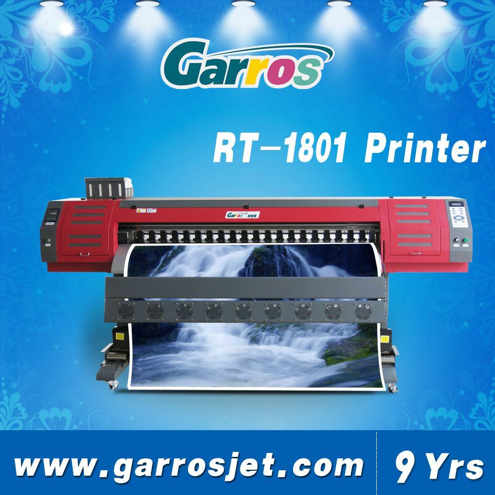 Indoor Wall Flex Printing Machine Eco Solvent Printer Printer Solvent Printheads