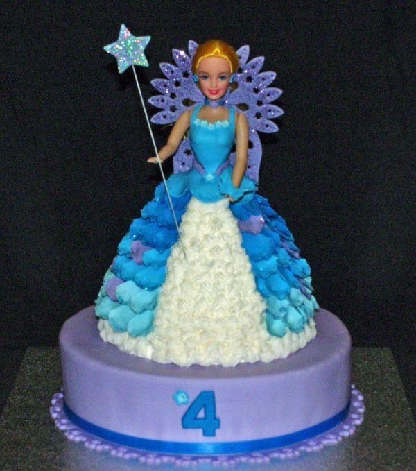 Blue Fairy Cake