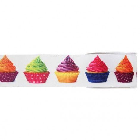 Cinta con motivo cupcakes