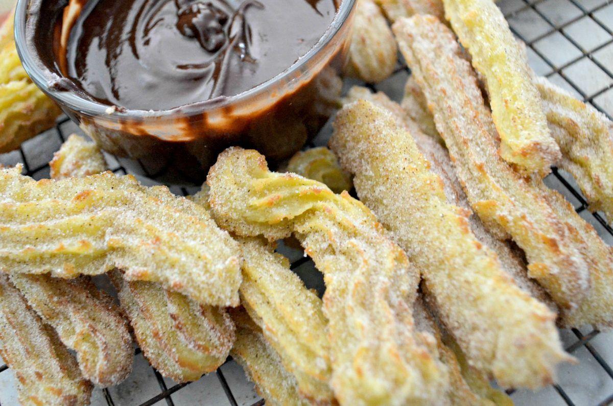 Homemade Cinnamon Sugar Churros Using the Air Fryer