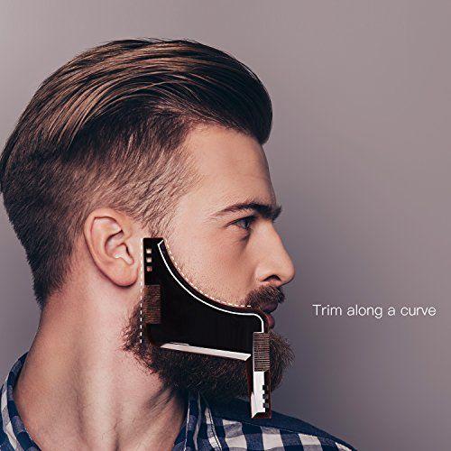 Beard Style Tool Shaping Comb Ulg Template Shaper Edging Beards