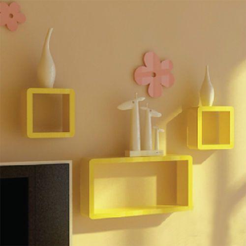 3-Cubes-Wall-Storage-Display-Shelves-Children-boy-girl-Pink-red ...