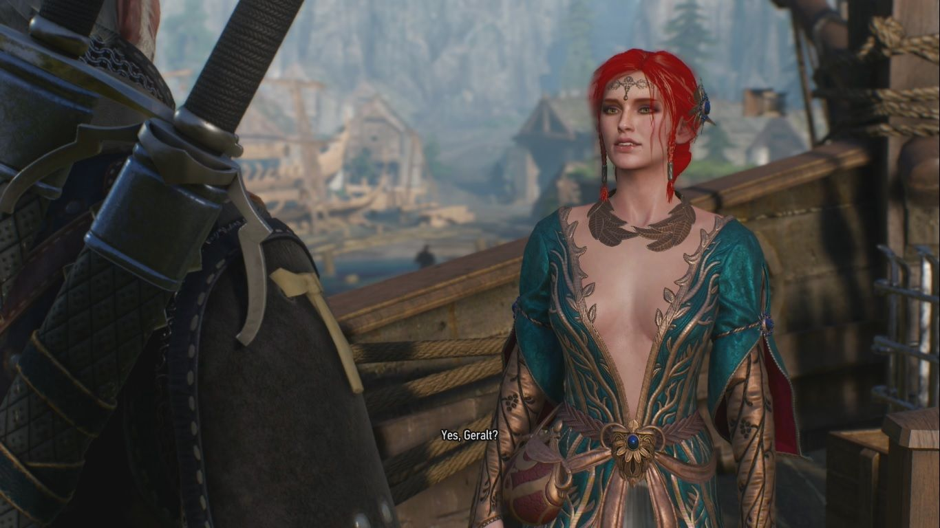 The Witcher 3 Triss Merigold's Alternate Look Costume DLC