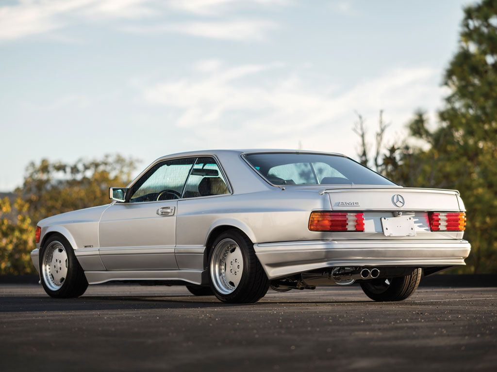 How many amg 6 0 4v w126 sec and sel cars were built amg side shot - 1989 Mercedes Benz 560 Sec 6 0 Amg Wide
