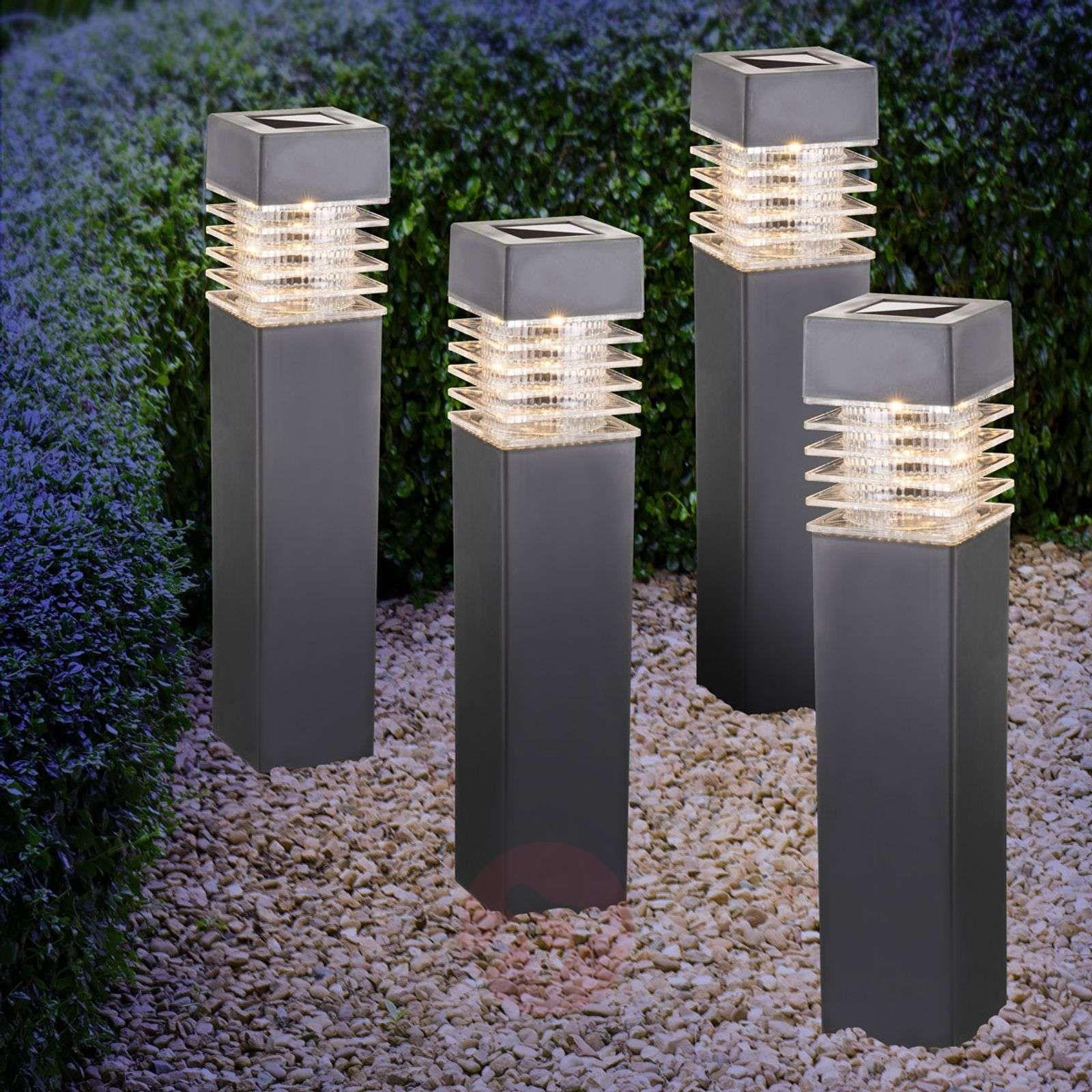 lampy solarne do ogrodu | lampa solarna najazdowa | wysokie
