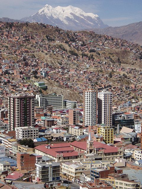 Panoramic View On La Paz The Highest Capital In South America Travel Bolivia Travel La Paz