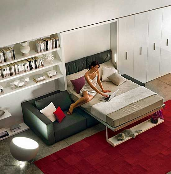 Modern Murphy Bed (Wall Beds For Modern Apartments)