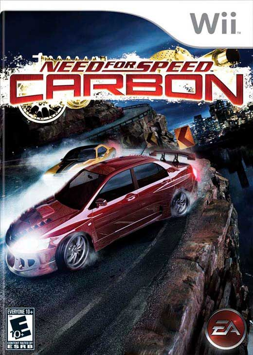 Need For Speed Carbon Nintendo Wii Game Need For Speed Carbon Need For Speed Gamecube